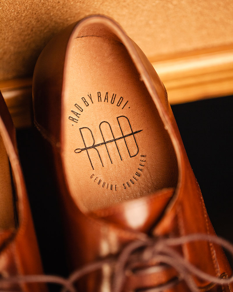 RAD by RAUDi|022 Plain Toe Derby・Brown