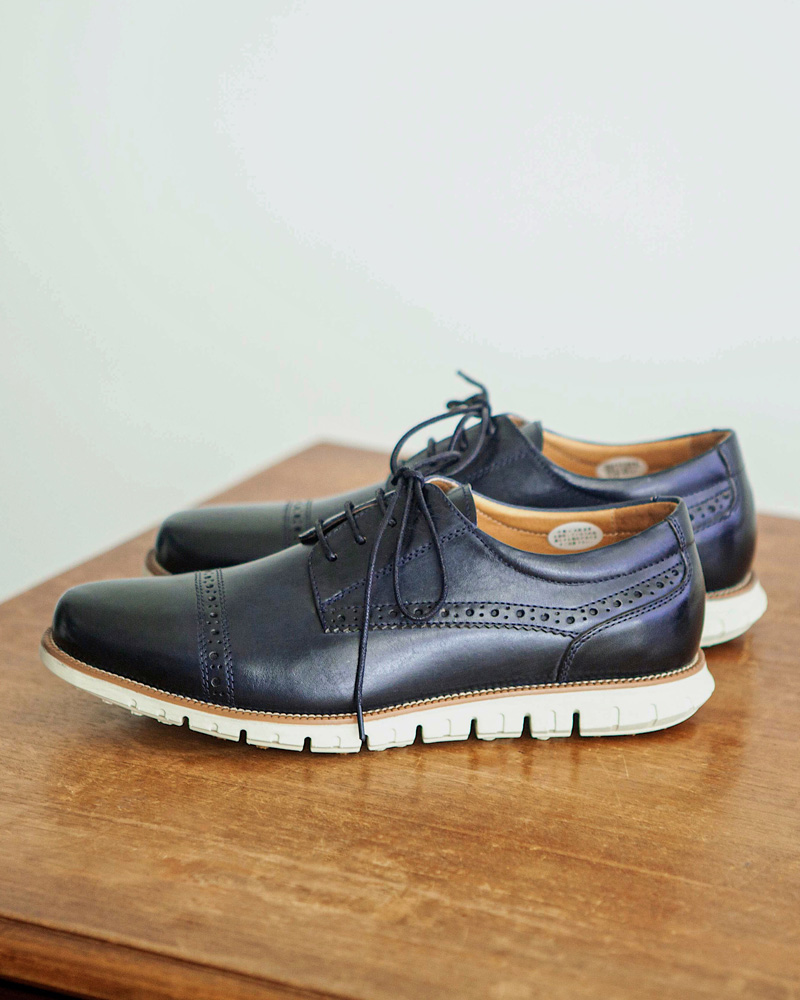 RAD by RAUDi|Straight Tip Sneakers・Navy