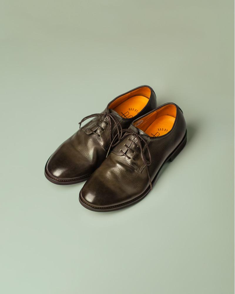 RAD by RAUDi|R12113 Washed Plain Toe Derby.Grey