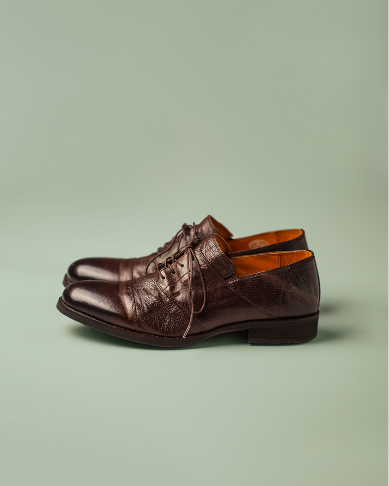 RAD by RAUDi|R12115 Captoe Derby.Dark Brown