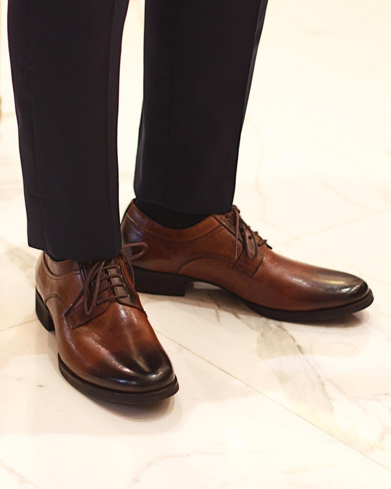 RAD by RAUDi|91105 Plain Toe Derby・Brown