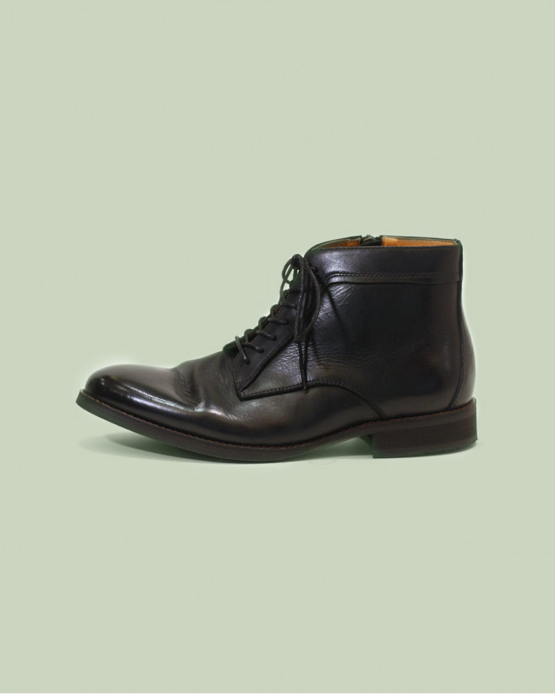 RAD by RAUDi|91214 Washed Leather Boots・Black