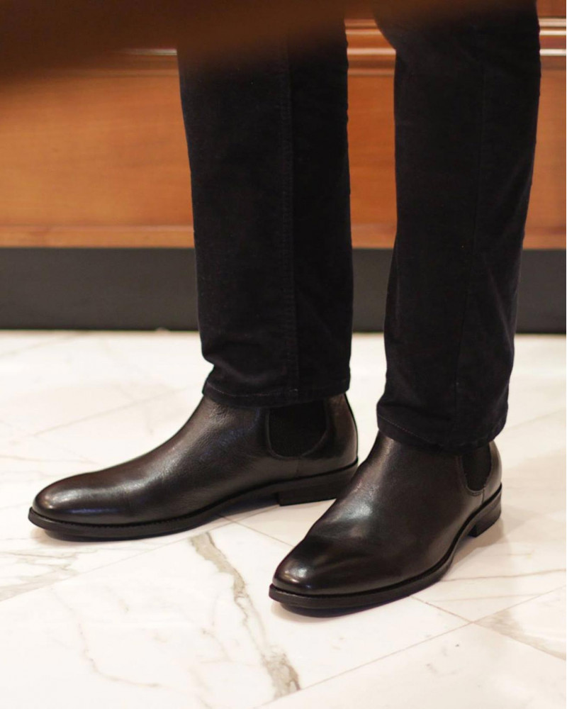 RAD by RAUDi|023 Chelsea Boots・Black