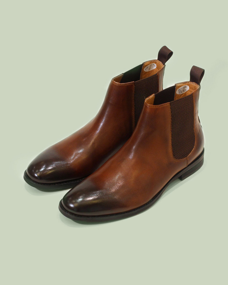 RAD by RAUDi|023 Chelsea Boots・Chestnut