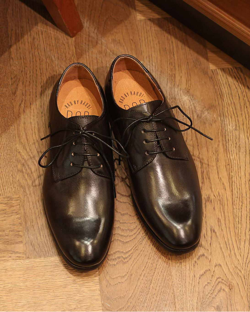 RAD by RAUDi Plain Toe Derby・Black