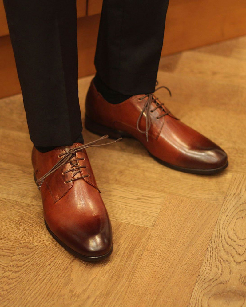 RAD by RAUDi|03 Plain Toe Derby・Brown