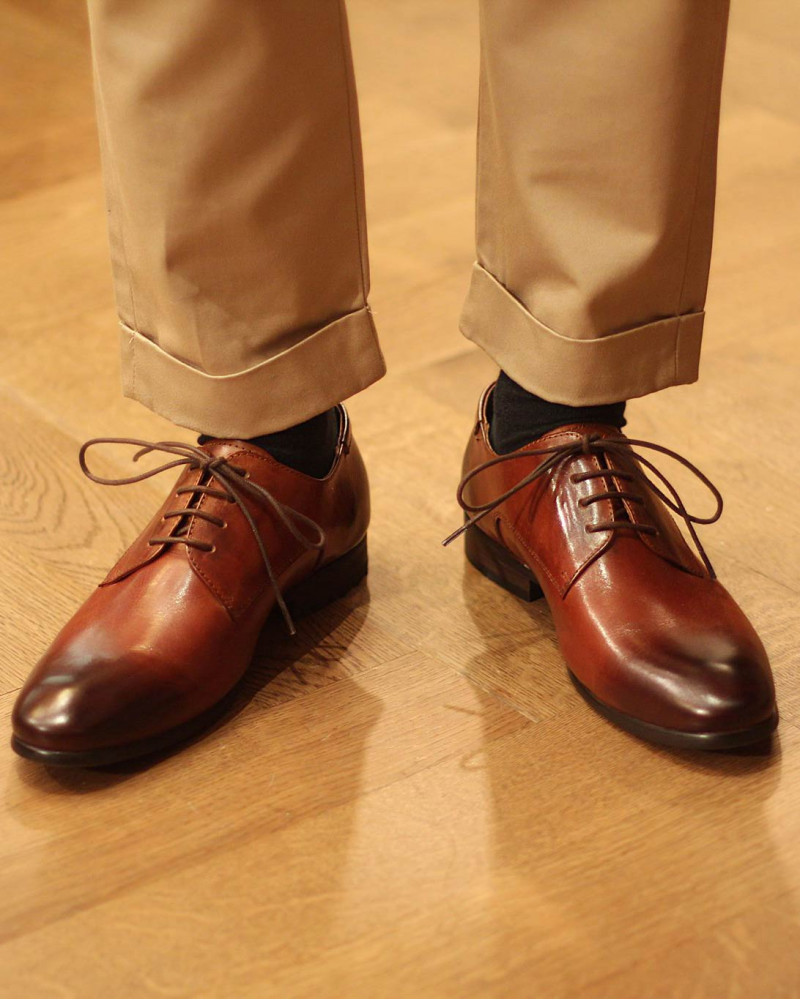 RAD by RAUDi Plain Toe Derby・Brown