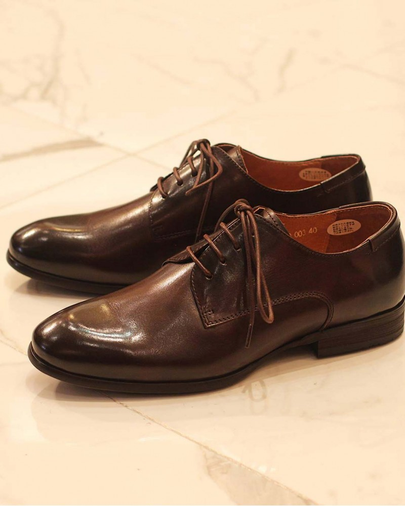RAD by RAUDi Plain Toe Derby・Dark Brown