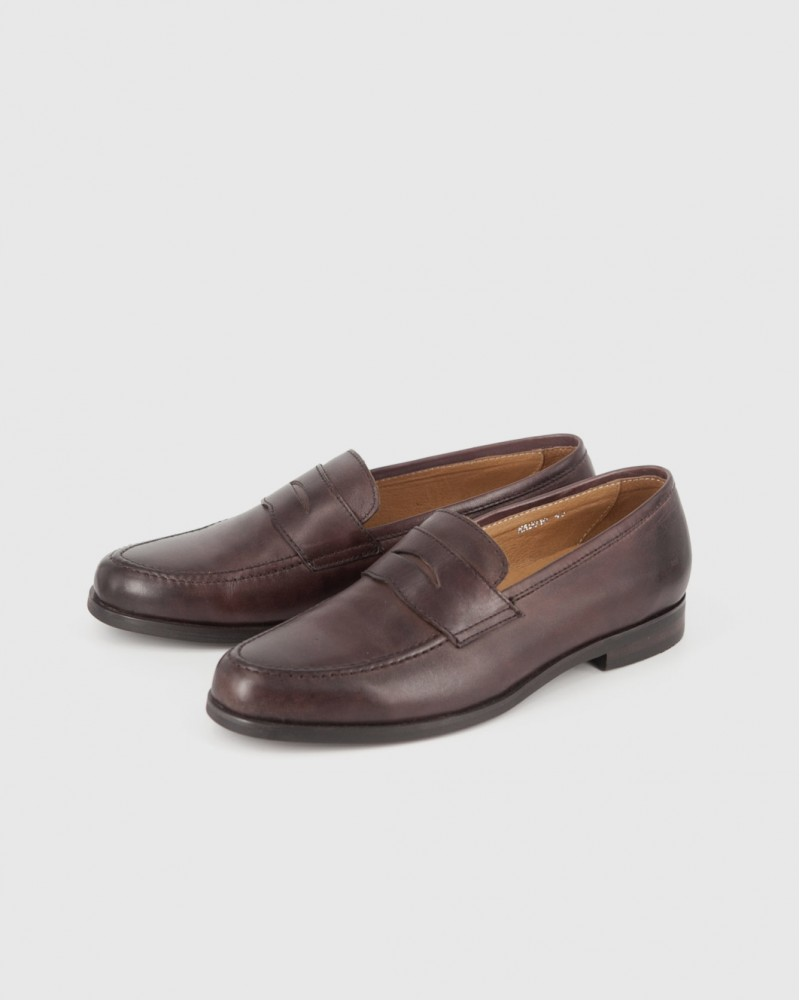 RAD by RAUDi|018 Penny Loafers · Brown