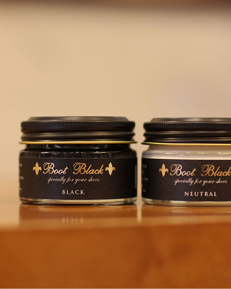 Boot Black|Black Label Shoe Cream