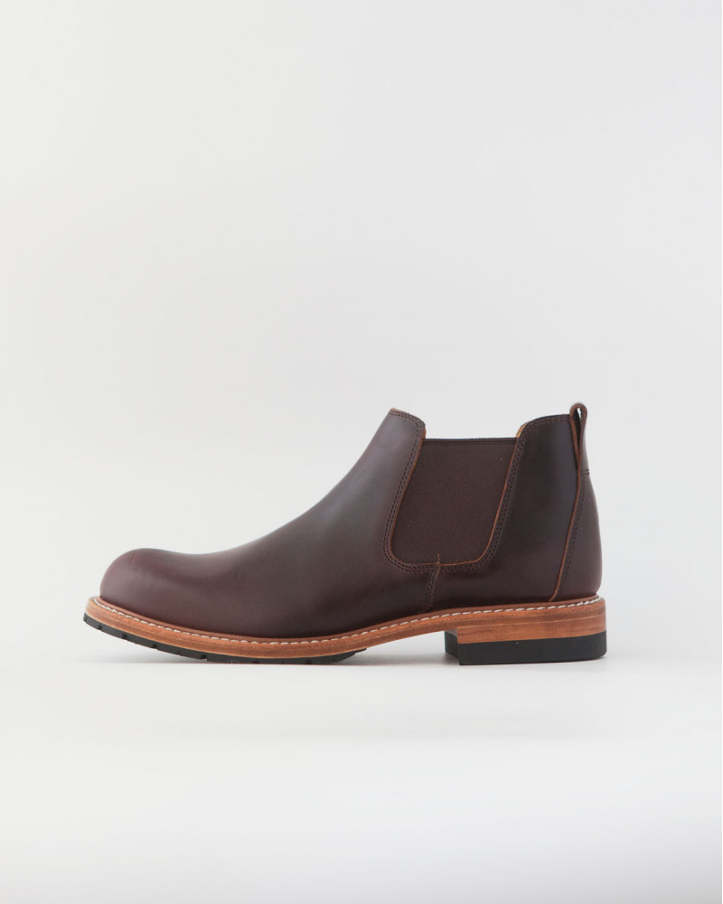 Slow Wear Lion|OB18208 Chelsea Boots・Dark Brown