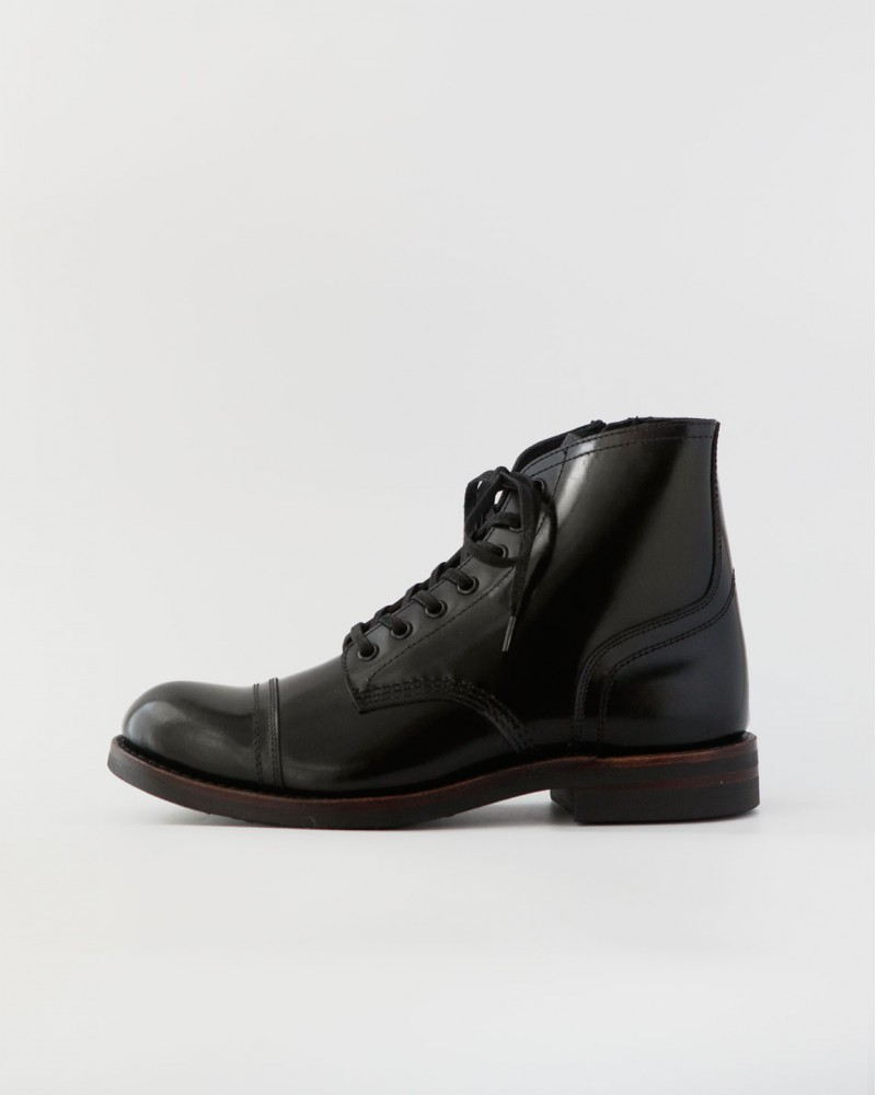 Slow Wear Lion|OB8166 Cap Toe Boots・Black
