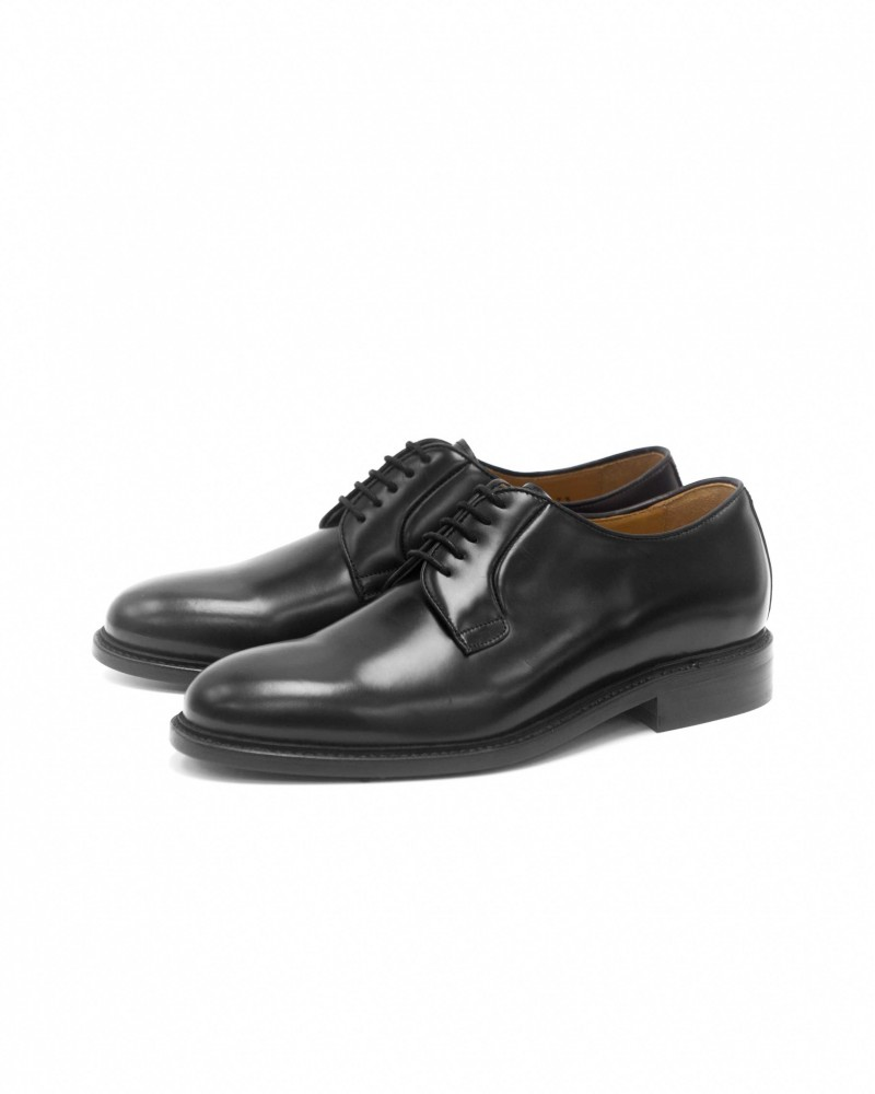 Berwick1707 Plain Toe Derby · Black