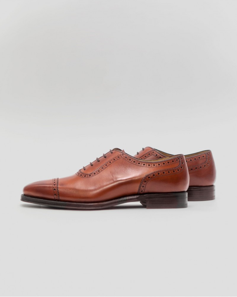 Berwick1707|4408 Quarter Brogue・Brown