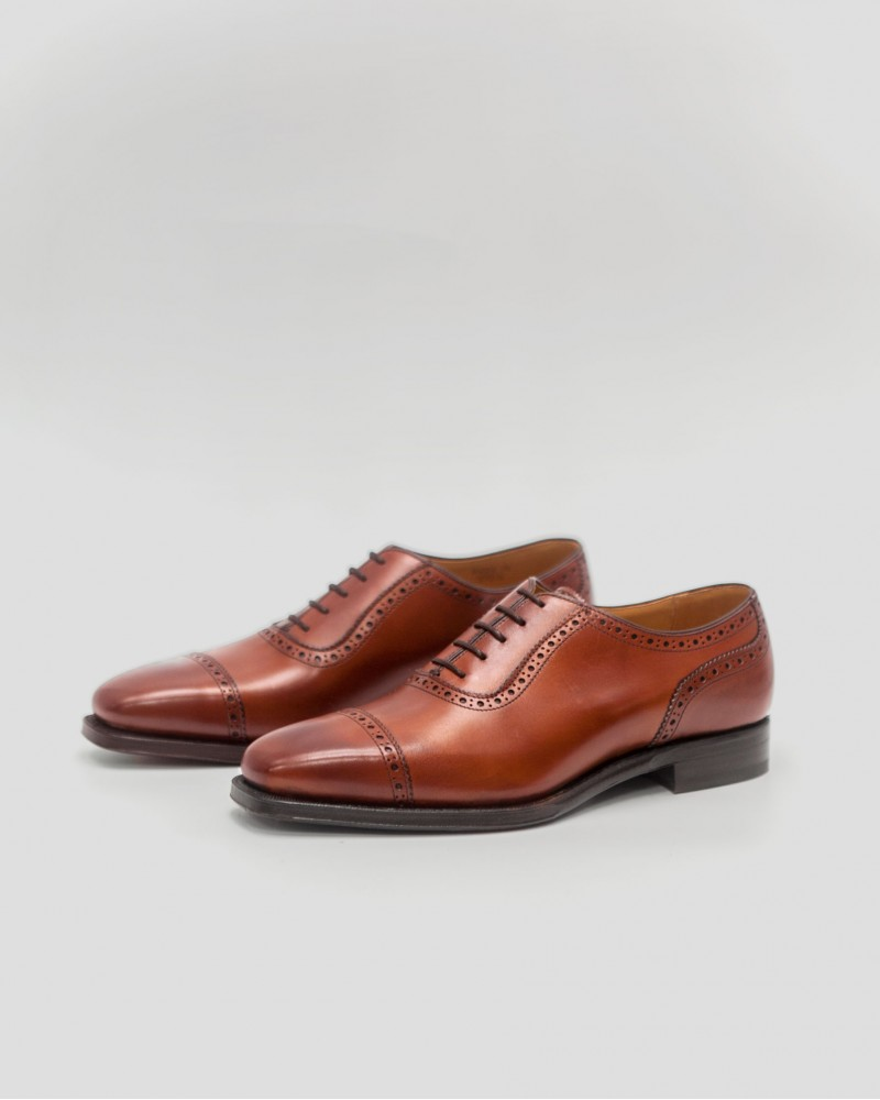 Berwick1707 Quarter Brogue・Brown