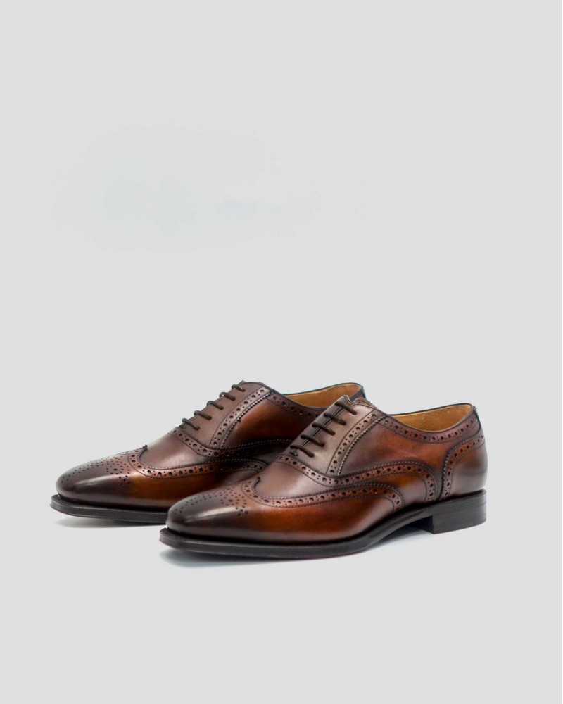Berwick 1707 Full Brogue・Brown