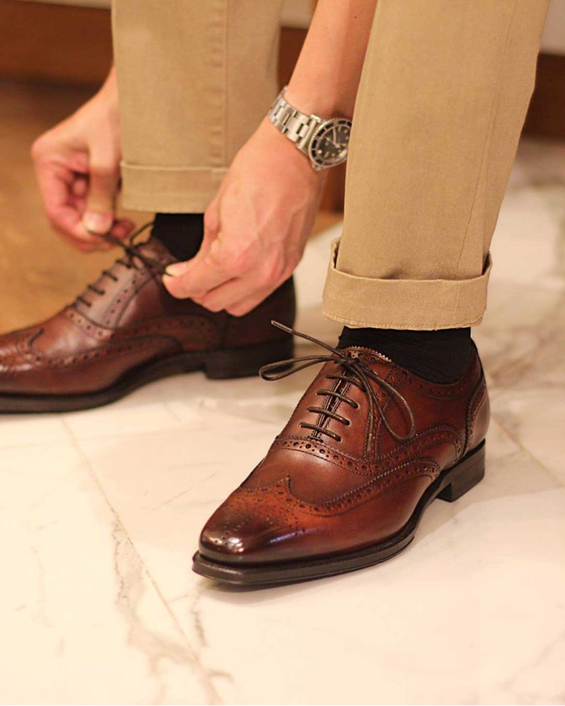 Berwick1707 | 4475 Full Brogue・Brown