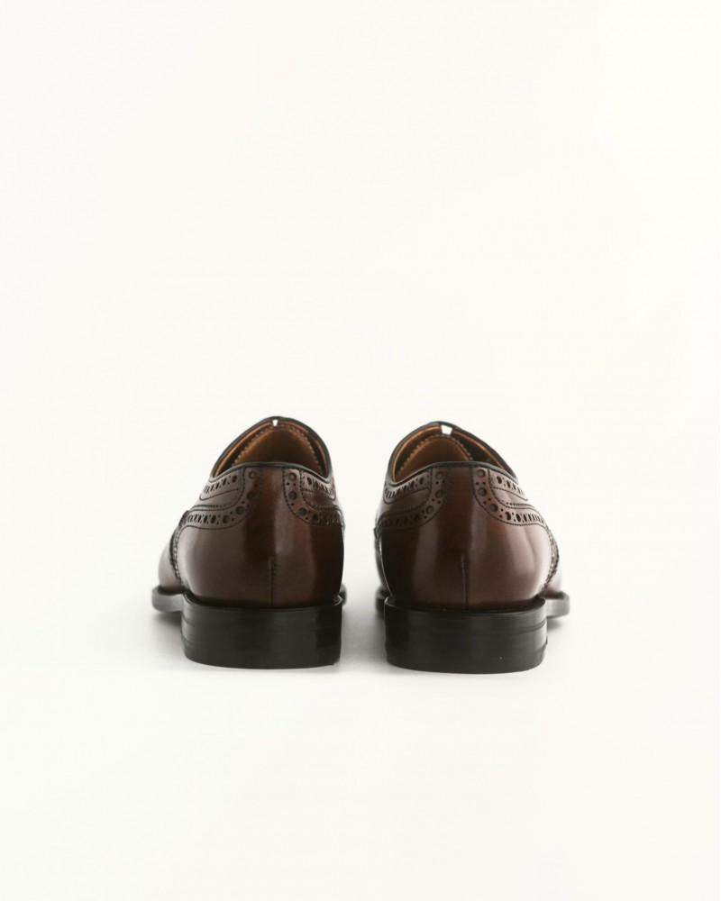Berwick 1707 for HOAX Wingtip Derby Shoes・Dark Brown
