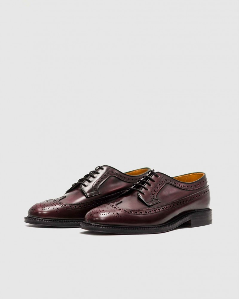 Berwick 1707 Longwing Brogues Plus · Burgundy