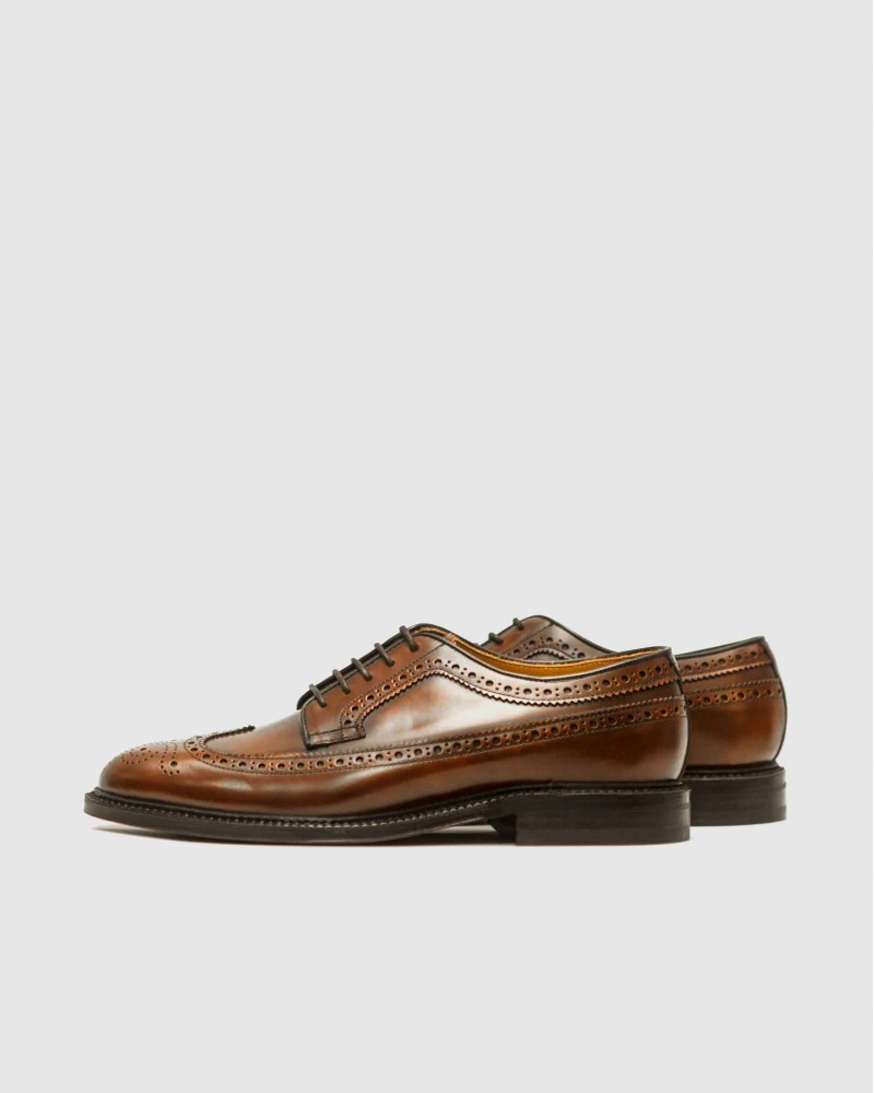 Berwick1707 for HOAX | 4794 Longwing Brogues Plus・Caramel