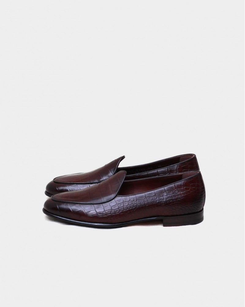 Berwick1707 for HOAX|4950 Belgian Plain Loafer・Testa