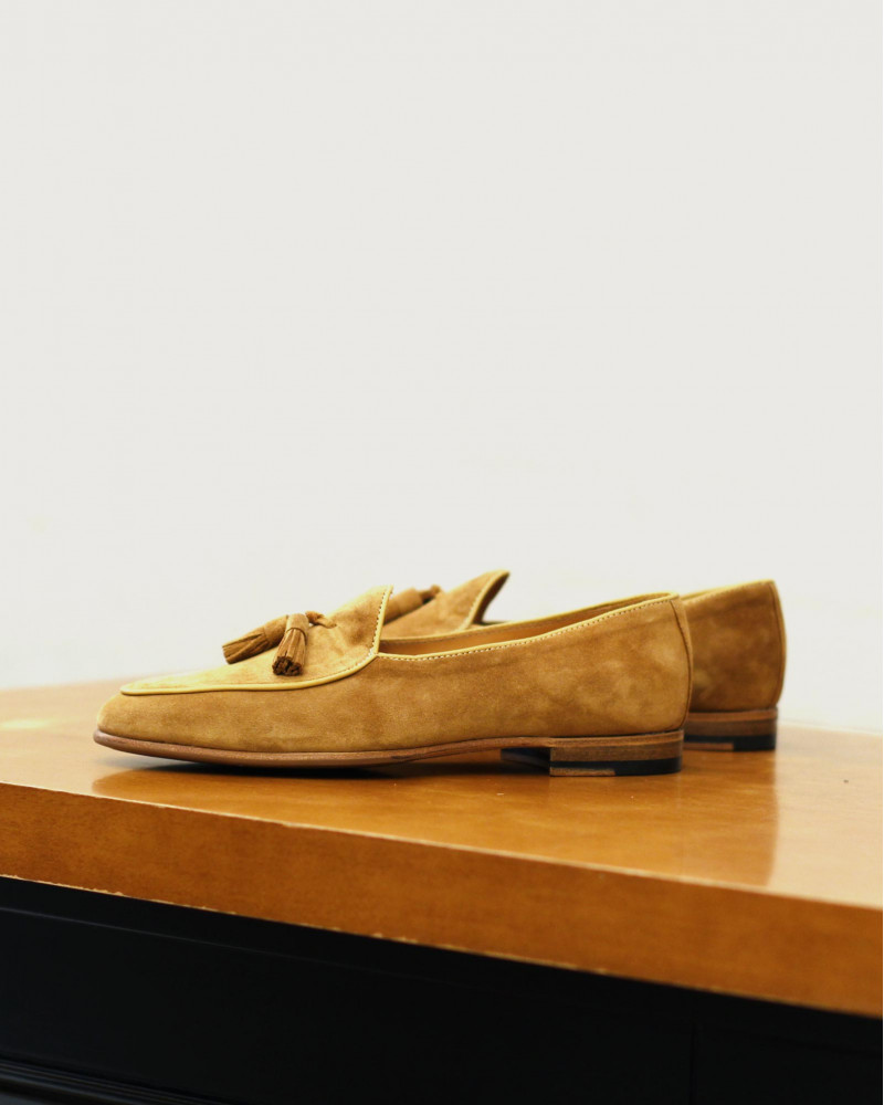 Berwick1707 for HOAX|4951 Belgian Loafers・Rame Suede