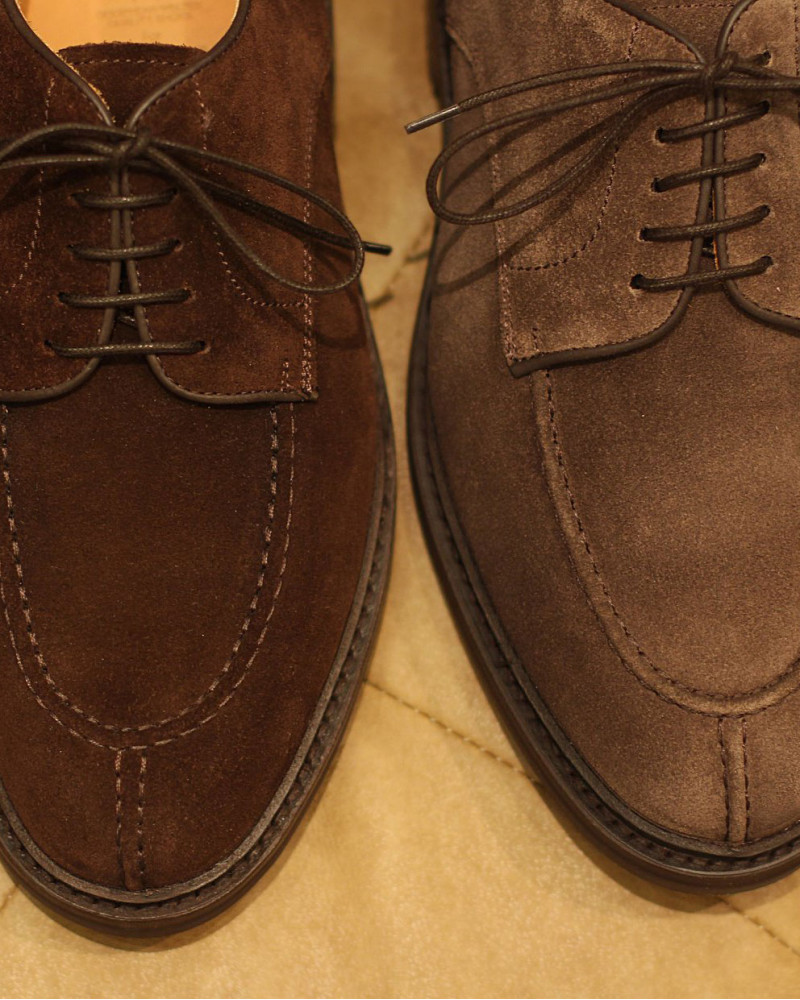 Berwick1707 for HOAX|4958 NST Blucher・173 Suede