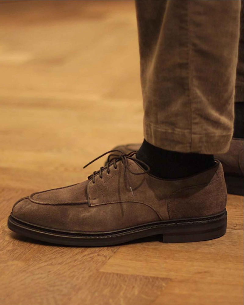 MTO · Berwick1707 for HOAX NST Blucher · Grey suede