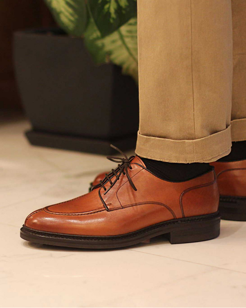 Berwick 1707 Split Toe Blucher・Tan