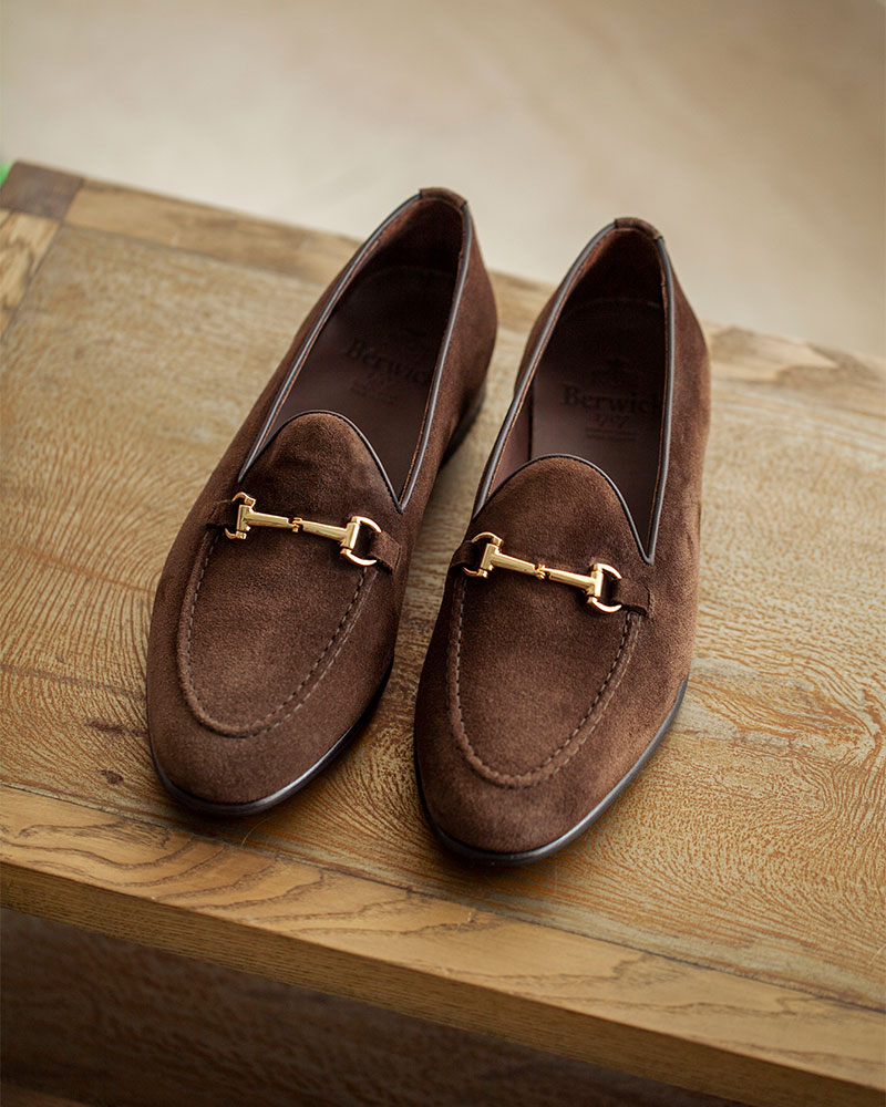 Berwick1707 for HOAX|5178 bit Loafer・Testa Suede