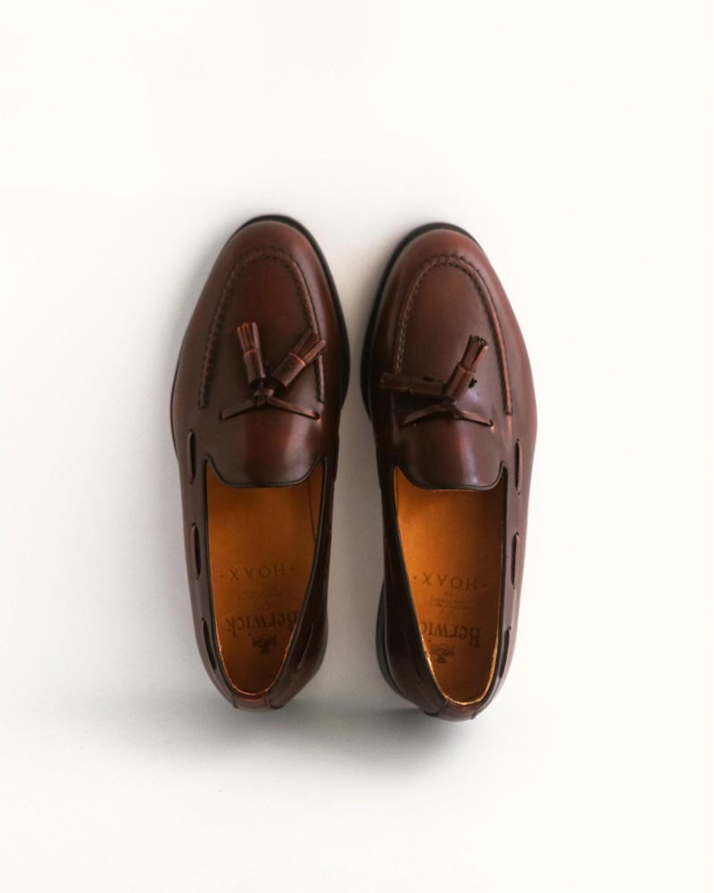 Berwick 1707 for HOAX Tassel Loafers・Tudor
