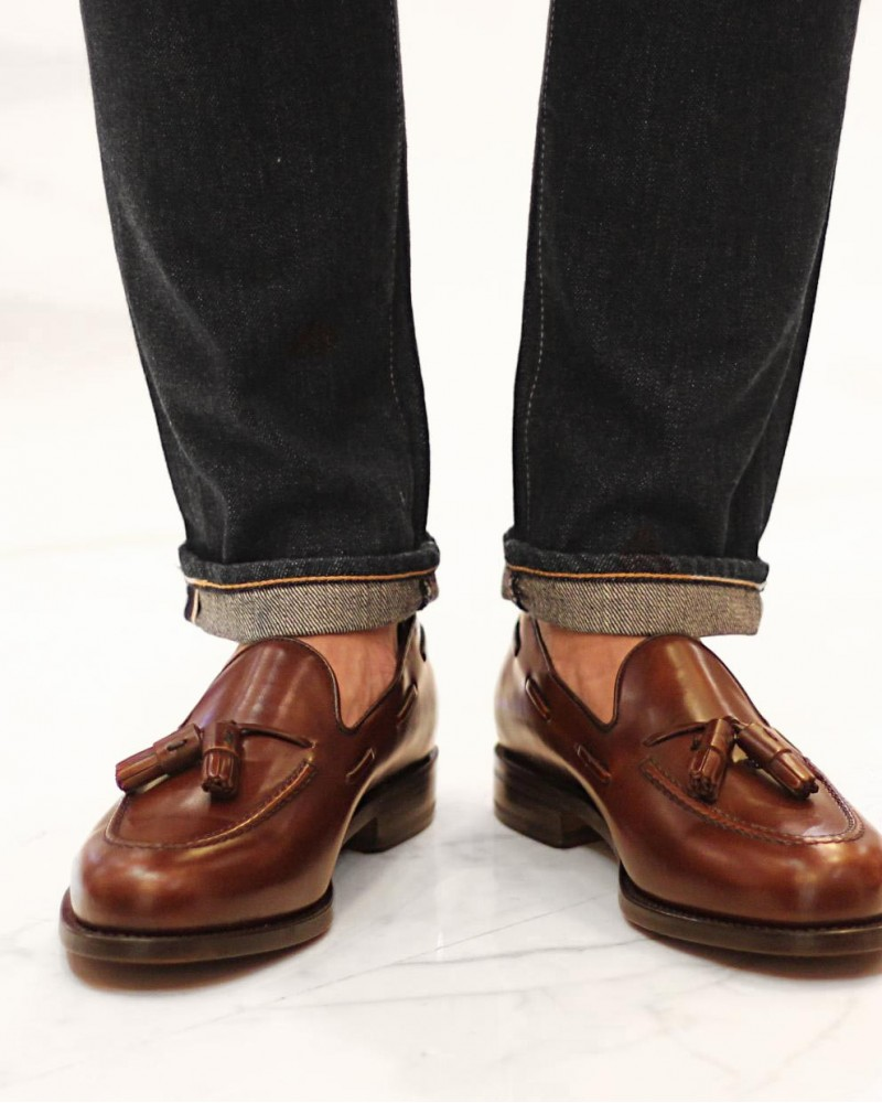 Berwick1707 for HOAX | 8491 Tassel Loafers・Tudor