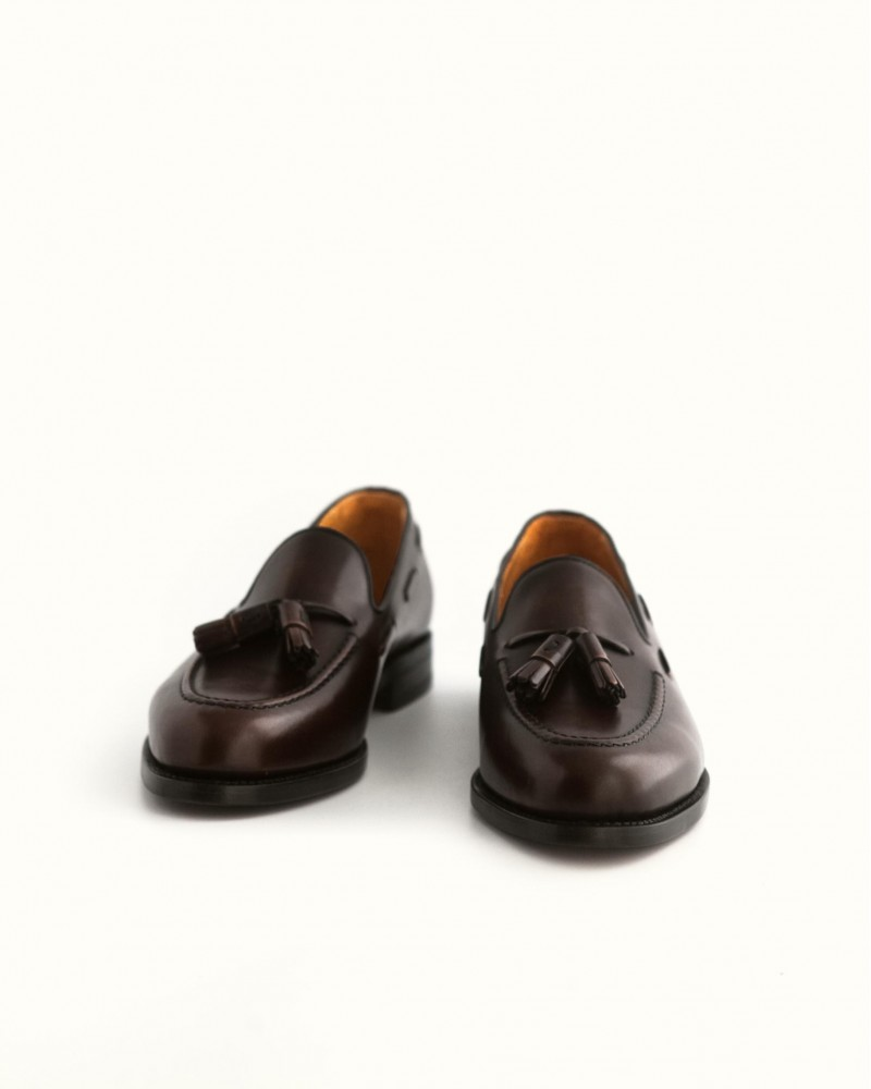 Berwick1707 for HOAX | 8491 Tassel Loafers・Dark Brown