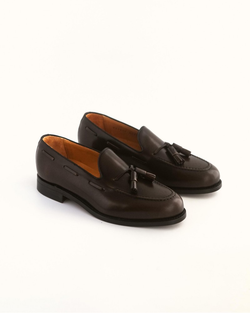 Berwick 1707 for HOAX Tassel Loafers・Dark Brown
