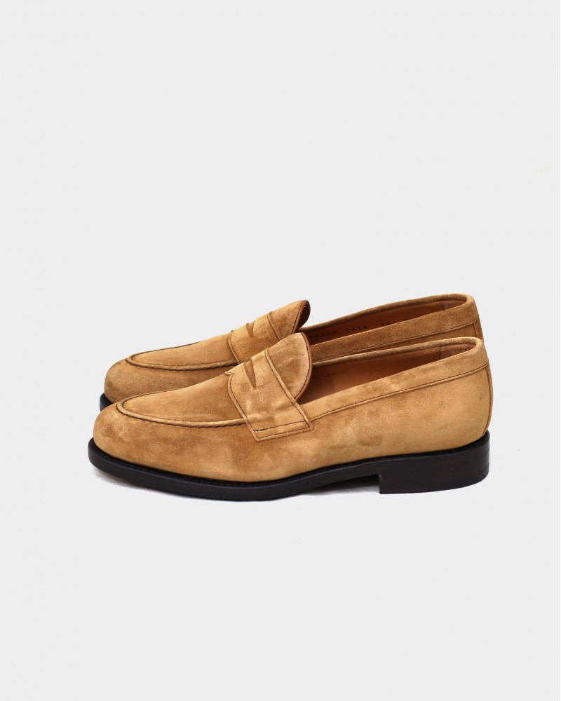 Berwick1707 for HOAX 9628 Penny Loafers・Rame Suede