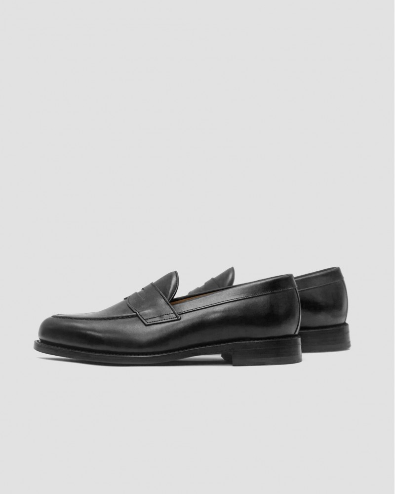 Berwick1707 for HOAX 9628 Penny Loafers · Black