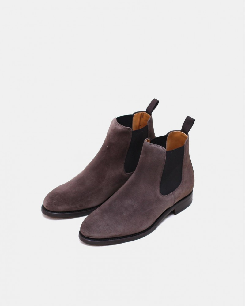 Berwick1707 for HOAX|303 Chelsea Boots・Bisonte Suede