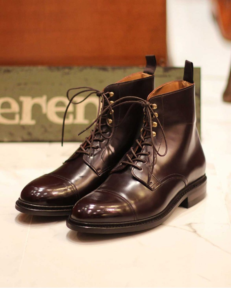 Berwick1707 for HOAX|321 Captoe Boots・Cordovan