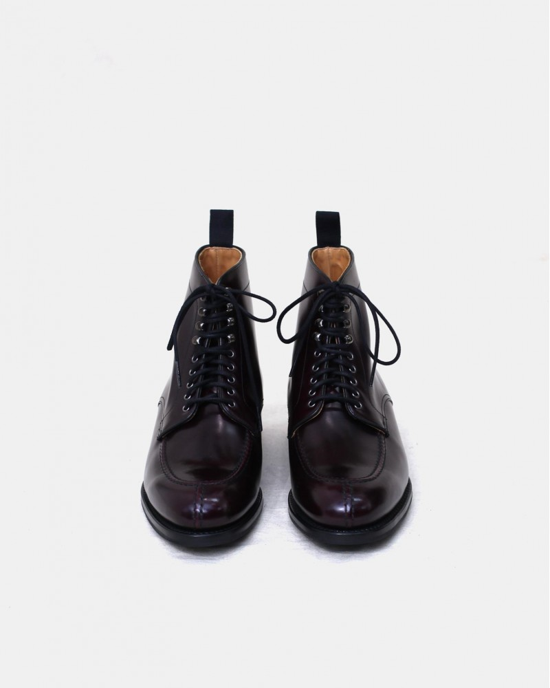 Berwick1707 for HOAX|358 NST Tanker Boots・Cordovan Color