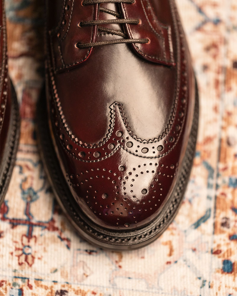 Berwick1707 for HOAX|4794 Cordovan Longwing Brogues・Color 8