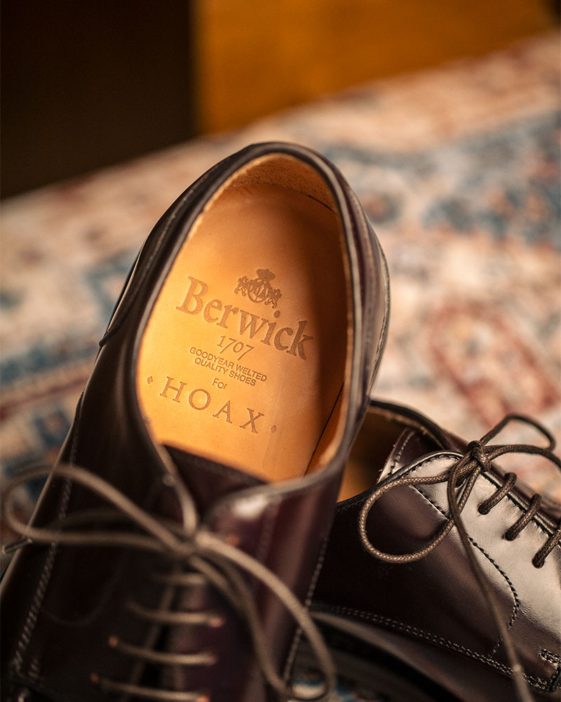 Berwick1707 for HOAX|4958 NST Blucher・Codovan Colour