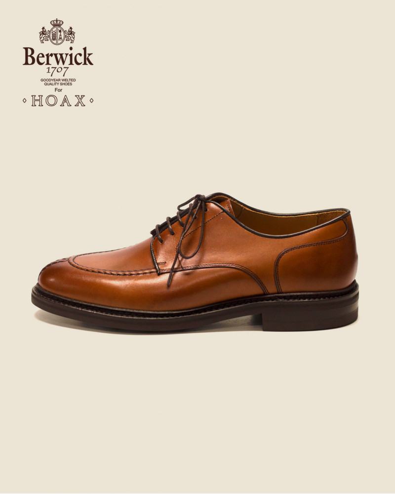 Berwick1707 for HOAX|4958 NST Blucher・Tan