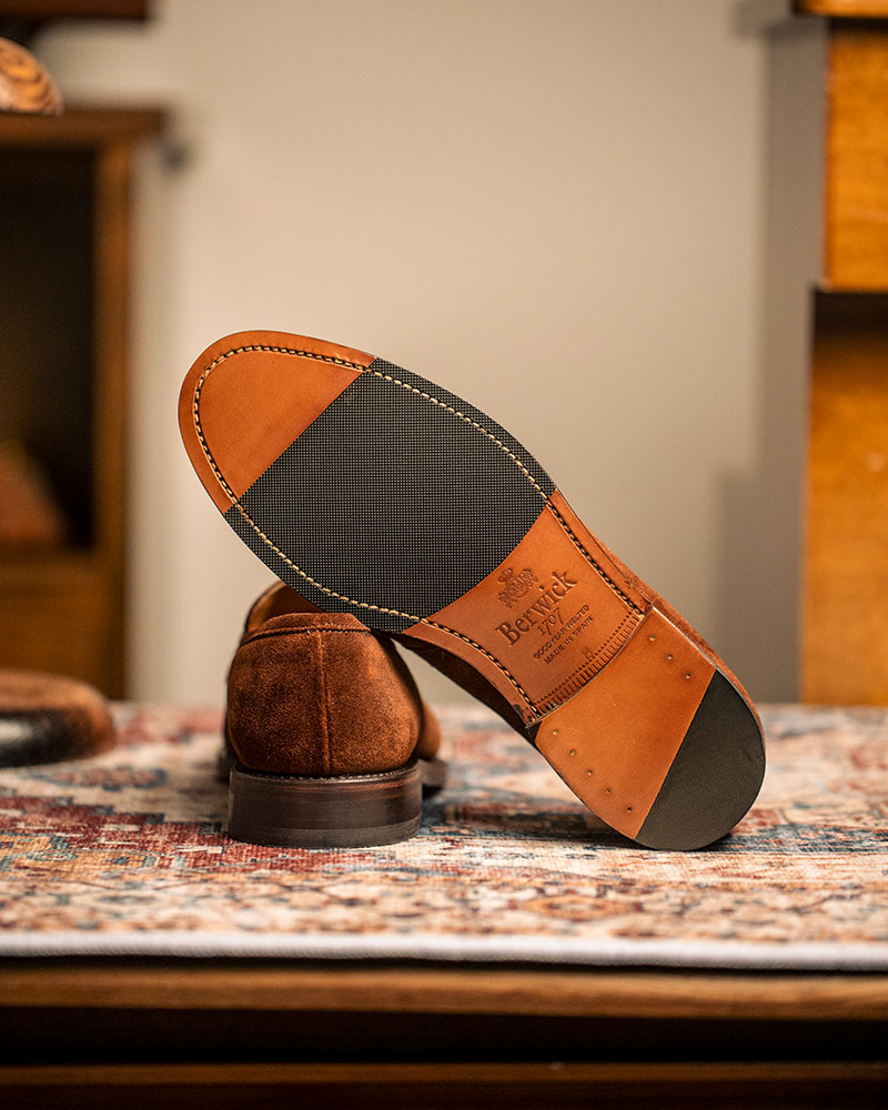 Berwick1707 for HOAX|4962 Penny Loafers・Polo Suede