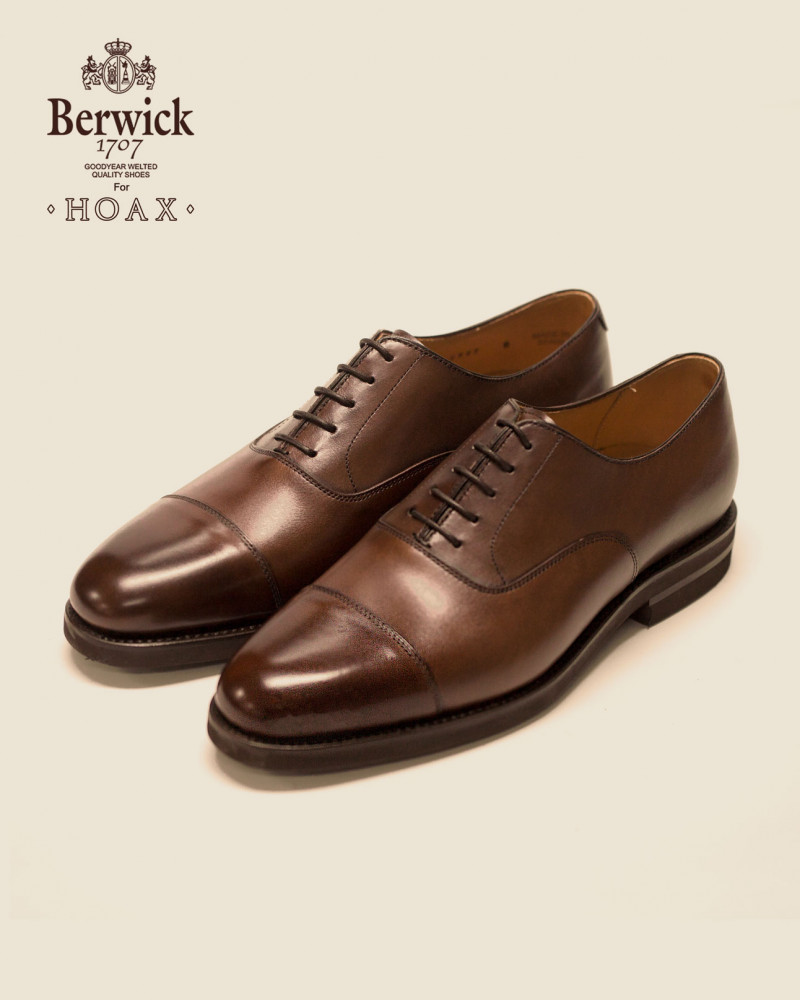 Berwick1707 for HOAX|4983 Captoe Oxford w/ XL EXTRALIGHT® Sole・Melize