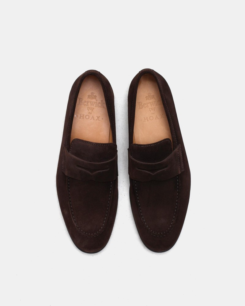 Berwick1707 for HOAX|5062 Unlined Loafers・173 Suede
