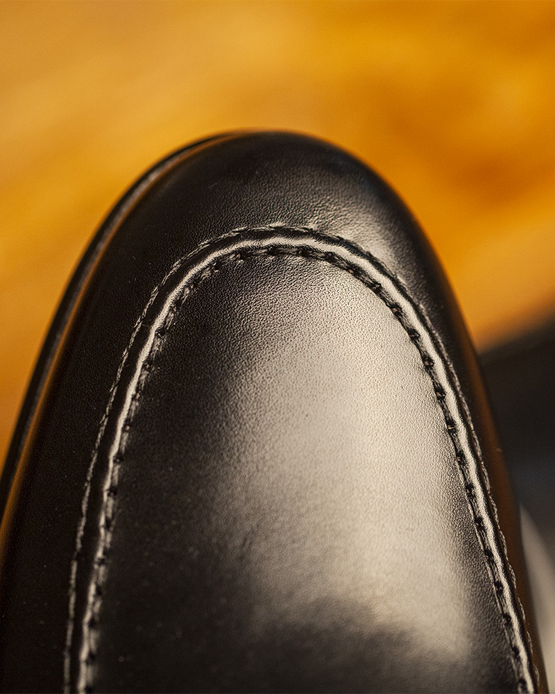 Berwick1707 for HOAX|5062 Lightweight Penny Loafers・Black
