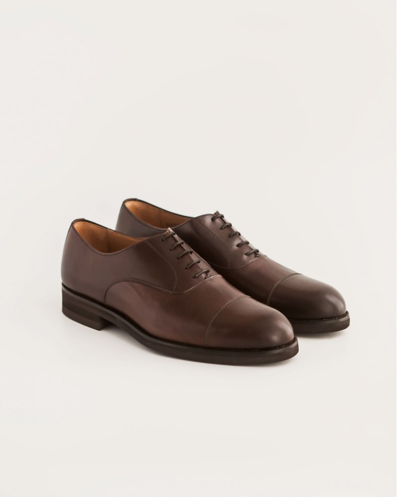 Paco Milan|5136 Cap Toe Oxford・Testa Brown