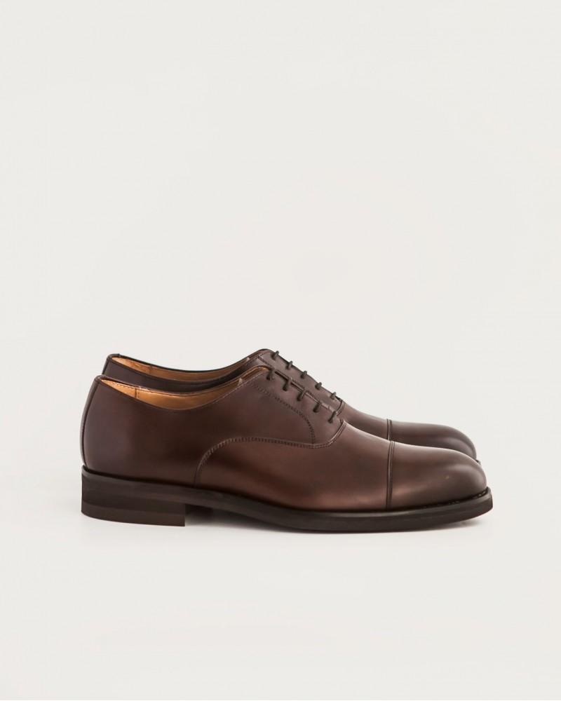 Paco Milan|5136 Cap Toe Oxford・Testa Brown