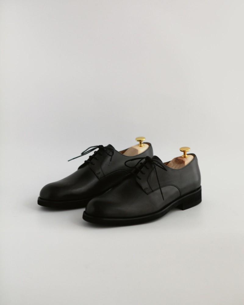 Paco Milan|4854 Plain Toe Derby・Grey
