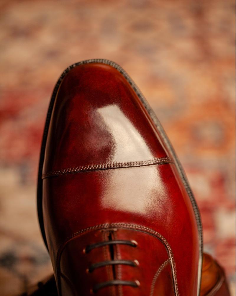 西班牙直送|Berwick1707 Premium Grade|Cordovan Captoe Oxford・Color 8